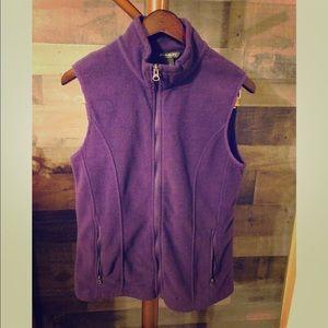 Women's Eddie Bauer Vest, Dark Purple, Med